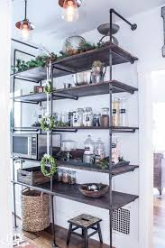 ideas for shelves in kitchen tips for a diy industrial pipe shelving unit diy