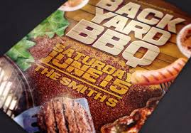 backyard bbq ii flyer template by design cloud graphicriver