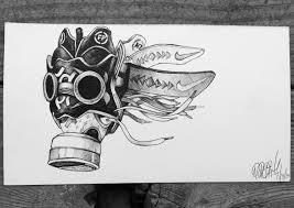 kd iv u201cn7 u201d gas mask daily sketch u2013 the blog freehandprofit com