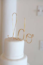 wire cake toppers diy wedding cake toppers for your special day