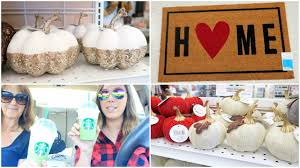 shopping at target tj maxx u0026 more fall u0026 home decor youtube