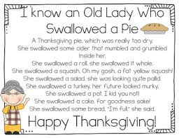 thanksgiving shared reading interactive charts by loretz tpt
