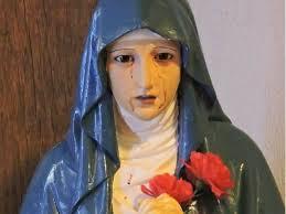 imágenes religiosas que lloran sangre cadena de oración por virgen que llora sangre crónica