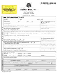 dollar tree job application free resumes tips