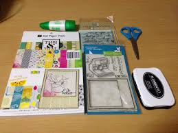 craft with me using pattern papers with collage designs u2013 makeup
