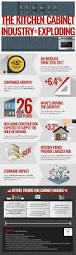 Economy Kitchen Cabinets The Kitchen Cabinet Industry Is Exploding Infographicbee Com
