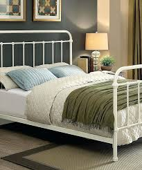 white metal twin bed frame s s white twin bed vintage style metal