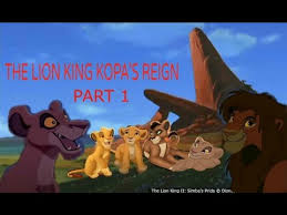 lion king kopa u0027s reign 1 description