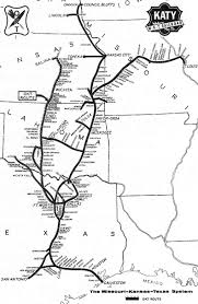 Route Map by Krhs M K T Katy Lines Maps