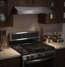 Under Cabinet Appliances Kitchen by Ge Pvx7300sjss 30 Inch Under Cabinet Range Hood With 400 Cfm 4