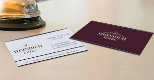 Hotel Business Card How To Choose The Best Business Card Stock Uprinting