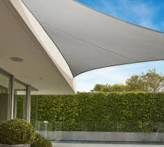 Canopy Triangle Sun Shade by Commercial Grade Triangle Shade Sail Coolaroo