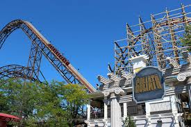 Six Flags Roller Coasters List Goliath Review Of The Six Flags Great America Coaster