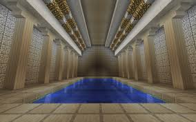indoor pool imgur minecraft mostly builds pinterest indoor