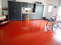 has anyone done a red epoxy floor the garage journal board