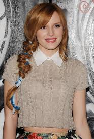 New Fall Hairstyles 2014 by Bella Thorne At Alice Olivia Fall 2014 Fashion Show In New York
