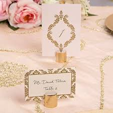 table top place card holders amazon com set of twenty david tutera place card holders and 50