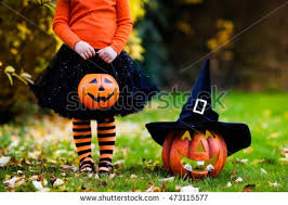 Halloween Costume Witch Costume Playing Autumn Stock Photo 479883889