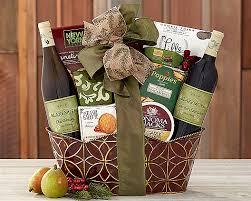 wine gift baskets cabernet chardonnay wine gift basket at gift baskets etc