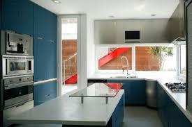 kitchen cabinet table top granite kitchen white wall color small kitchen modern minimalist block navy
