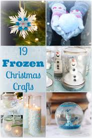 frozen christmas crafts over 19 ideas the country chic cottage