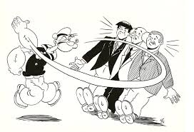 popeye and the 3 stooges by zombiegoon on deviantart