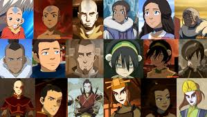 the gaang through the ages by toph team avatar on deviantart