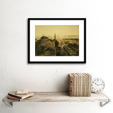 landscape istanbul turkey print frame wooden framed picture poster