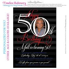 Where To Buy Birthday Invitation Cards 50th Birthday Invitations 50th Birthday Invitations For Him