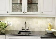 antiqued 4x4 ivory travertine backsplash tile cabinet countertop