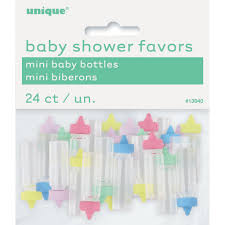 neutral baby shower decorations plastic baby bottle gender neutral baby shower favors gender
