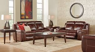Leather Living Room Sets Full Leather Furniture Suites - Red leather living room set