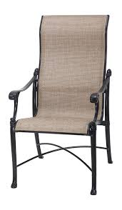 shop michigan by gensun luxury cast aluminum patio furniture sling