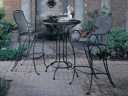 Black Wrought Iron Patio Furniture Sets Popular Cast Iron Outdoor Furniture All Home Decorations