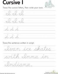 free printable cursive worksheets writing prompts cursive