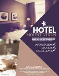 hotel brochure design templates customizable design templates for hotel postermywall