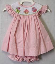 cupcake birthday dress cupcake dress smocked bishop