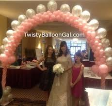 wedding arch balloons birthday party ideas bring on the balloons albany ny