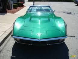 corvette stingray green 1971 brands hatch green metallic chevrolet corvette stingray