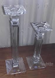 candelieri in cristallo candelieri in cristallo di bohemia arredamento e casalinghi in