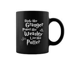 inspired study like granger 11oz black ceramic coffee mug coffee