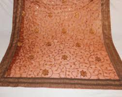 Sari Fabric Curtains Sheer Sari Fabric Etsy