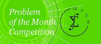 problem of the month department of mathematics