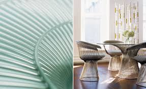 platner bronze dining table hivemodern com