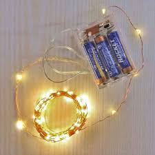 Battery String Lights With Timer by Battery Operated Fairy Lights