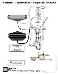 push pull tone humbucker split wiring diagram telecaster guitar