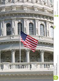 Us Flags At Half Mast Us Flag At Half Mast Stock Photo Image Of Government 4238582