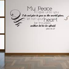 John 14 27 Lord s Prayer Christian Scripture Wall Decor