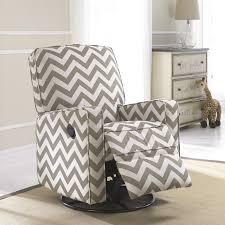furniture furniture cool chevron recliner slipcover chair idea