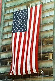 American Flag 1845 Ground Zero Volunteers Flag